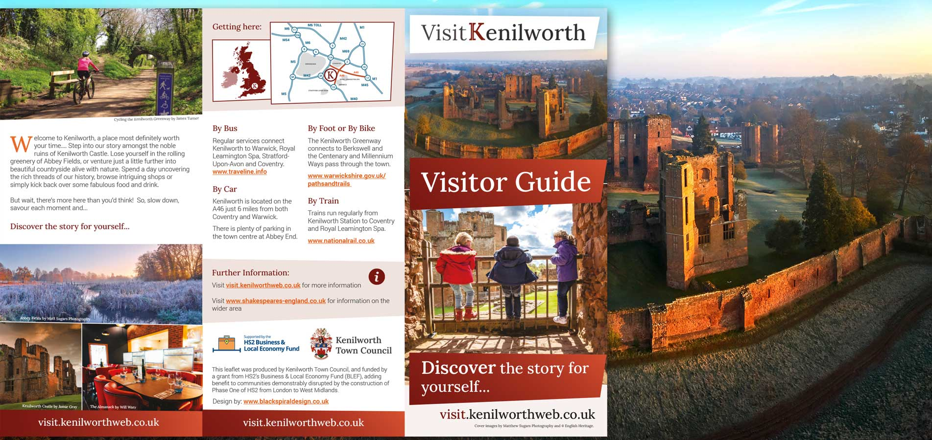 New Visit Kenilworth Visitor Guide is out